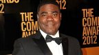 Tracy Morgan appeared in New York on 28 April 2012