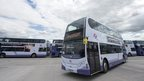 first bus for commonwealth games
