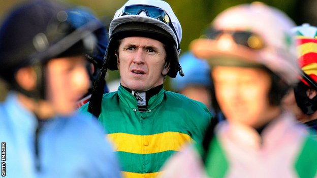 Champion jockey AP McCoy