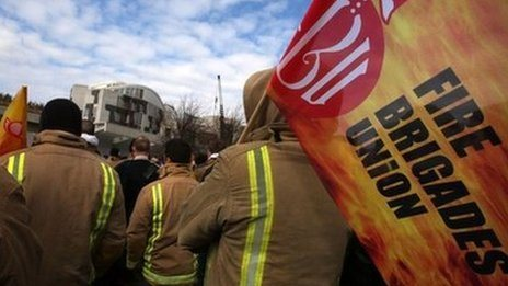 Fire crews begin new pension strikes