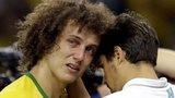 Crying David Luiz