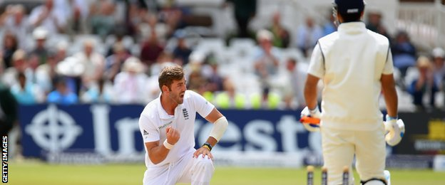 Liam Plunkett has taken 14 wickets in three Tests since returning from a seven-year exile