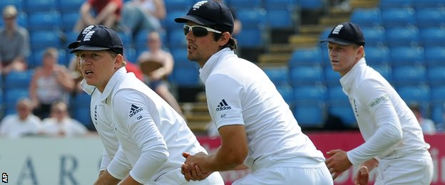 England need to replace Graeme Swann, who took 54 Test catches, in the slip cordon
