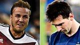 Mario Gotze & Lionel Messi