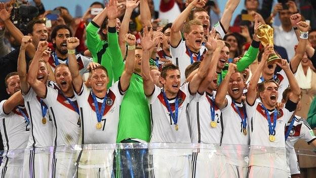 Germany lifts World Cup