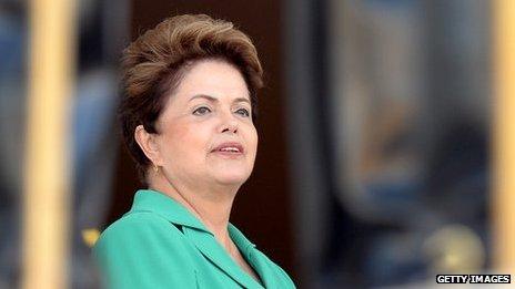 Dilma Rousseff, Brazilian President