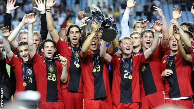 Germany 2009 under-21 European Championship final
