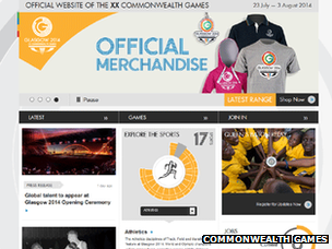 Commonwealth Games site