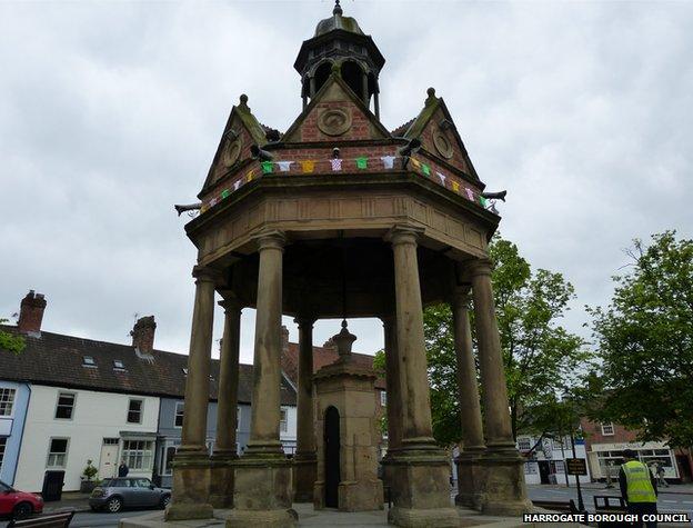 St James' Fountain, Boroughbridge