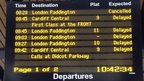 Departure boards