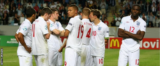 England Germany 2009