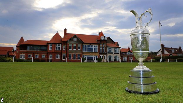 The Open Championship 2014 at Royal Liverpool Golf