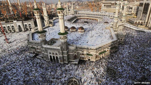 The Grand Mosque in Mecca