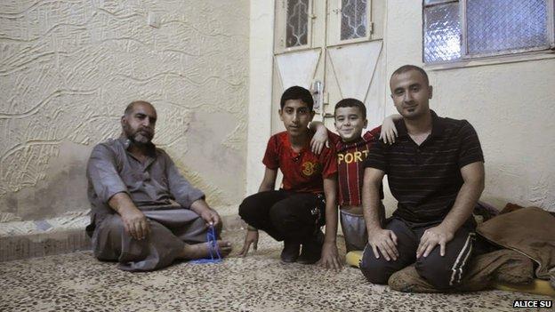 Nada Qasim's family