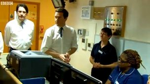 George Osbourne at Rowley Regis Hospital