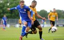 Summer signing Guido Burgstaller made his Cardiff City debut in the 3-0 pre-season friendly win over Carmarthen Town in Haverfordwest.