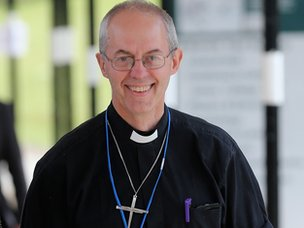 Archbishop of Canterbury Justin Welby at annual Church of England General Synod