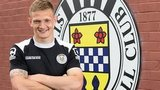 Striker Ross Caldwell has signed for St Mirren