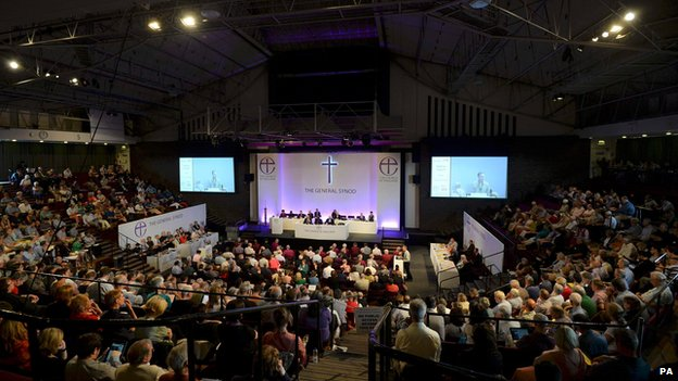 General Synod meeting in York