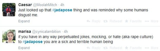 tweets about #JadaPose