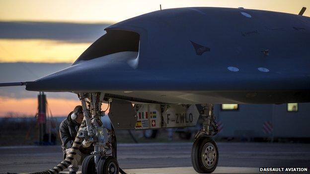 Dassault Aviation's Neuron UCAV