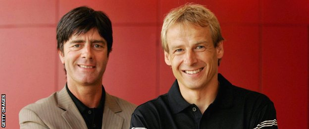Joachim Low and Jurgen Klinsmann