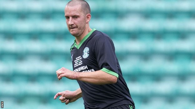 Guillaume Beuzelin played alongside Dumbarton manager Ian Murray at Hibernian