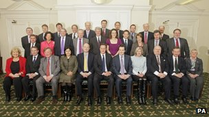 David Cameron's shadow cabinet, 2010