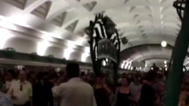 inside Moscow metro system