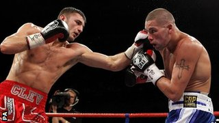 Nathan Cleverly and Tony Bellew