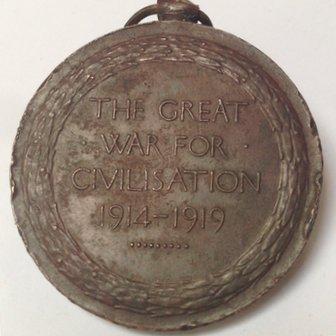 Restored medal