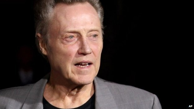 Christopher Walken at a film premiere in 2012