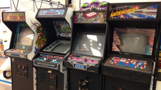 Arcade games, UK Computer Museum