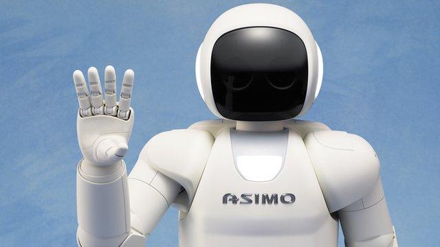 Robot Humanoide Honda Humanoid Robot Opens Bottles