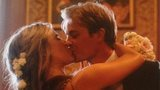 Nico Rosberg kissing his bride and celebrating Germany's World Cup win.