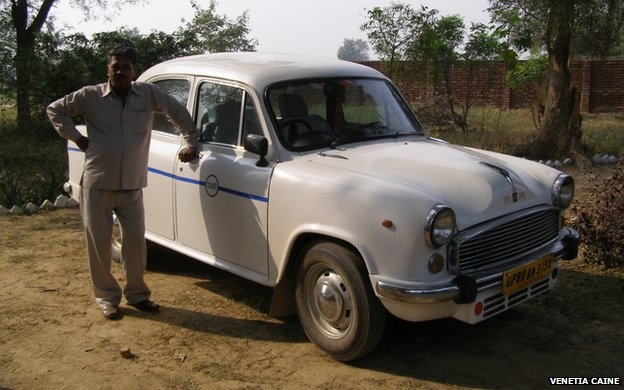 Venetia Caine Ambassador car