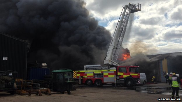Northamptonshire fire engine