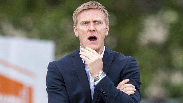 KR Reykjavik manager Runar Kristinsson