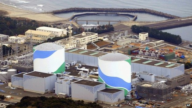 This photo taken in January 2014 shows Sendai Nuclear Power Station in Sendai, Kagoshima prefecture, southern Japan