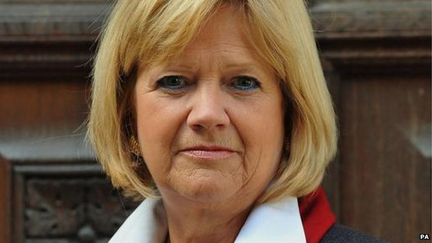 Lady Justice Dame Heather Hallett