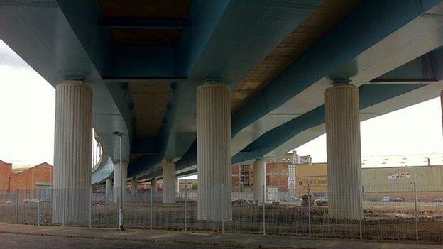 Port Eglinton viaduct