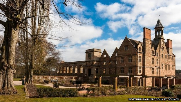 Rufford Abbey Country Park