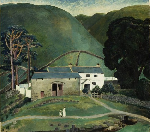 Dora Carrington, Farm at Watendlath, 1921