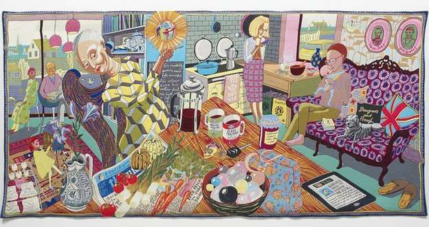Grayson Perry, The Annunciation of the Virgin Deal, 2012