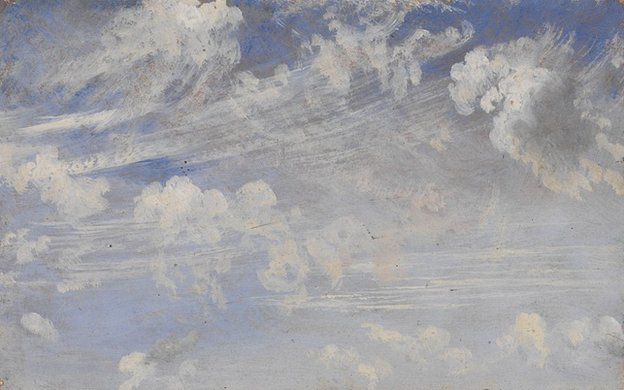 John Constable, Study of Cirrus Clouds, c. 1822