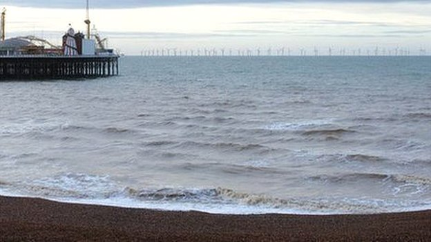 Rampion Offshore Wind Farm Approved By Government Bbc News