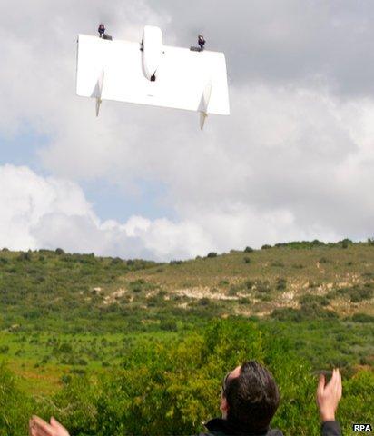 Man launched Skate UAV