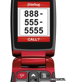 GreatCall's Jitterbug mobile phone