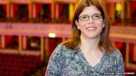 Julia Robinson at the Royal Albert Hall