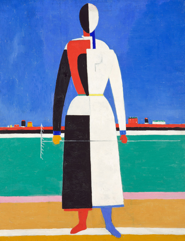 Woman with Rake by Kazimir Malevich